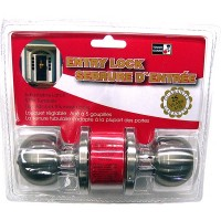 Entry Door Lock - Stainless Steel. LOWEST $8.40