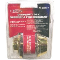 Deadbolt Door Lock - Brass. LOWEST $5.25