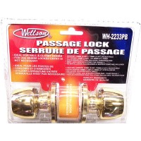 Passage Door Lock - Brass - LOWEST $4.50