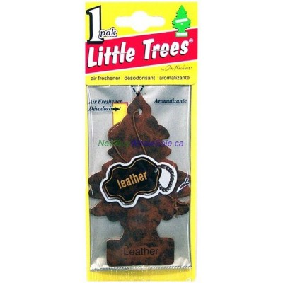 Little Trees Leather - Car Air Freshener - LOWEST $0.59 - UPC: 076171102904