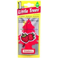 Little Trees Strawberry - Car Air Freshener - LOWEST $0.59 - UPC:076171103123