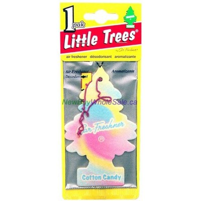 Little Trees Cotton Candy - Car Air Freshener - LOWEST $0.59 - UPC: 076171102829