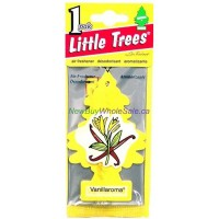 Little Trees Vanillaroma - Car Air Freshener - LOWEST $0.59 - UPC:076171101051