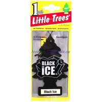 Little Trees Black Ice - Car Air Freshener - LOWEST $0.59- UPC:076171101556