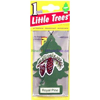 Little Trees Royal Pine - Car Air Freshener - LOWEST $0.59 - UPC:076171101013
