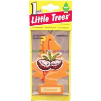 Little Trees Coconut - Car Air Freshener - LOWEST $0.59 - UPC:076171103178