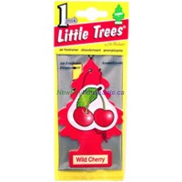 Little Trees Wild Cherry - Car Air Freshener - LOWEST $0.59- UPC:076171103116