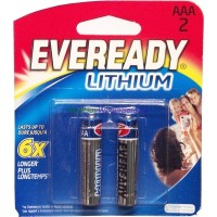 Eveready Lithium AAA2 6x Exp:2023 LOWEST $2.50