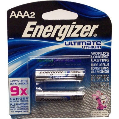 Energizer Ultimate Lithium AAA2 9x LOWEST $3.50 Exp: 03/2027