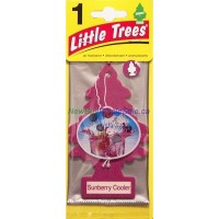 Little Trees Sunberry Cooler - Car Air Freshener - LOWEST $0.59 - UPC: 076171103239