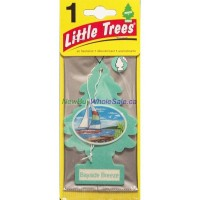Little Trees Bayside Breeze - Car Air Freshener - LOWEST $0.59 - UPC: 076171171214