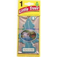 Little Trees Rainforest Mist - Car Air Freshener - LOWEST $0.59 - UPC: 076171101068
