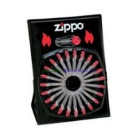 Zippo Flints Display Card 24pcs 2460C LOWEST 10% off
