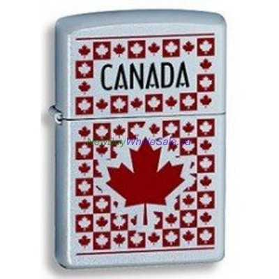 Zippo 205 Canada Maple Leaves 61875 LOWEST 10% off