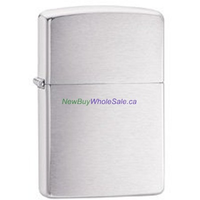 Zippo 200 Reg Brushed Chrome LOWEST 10% off