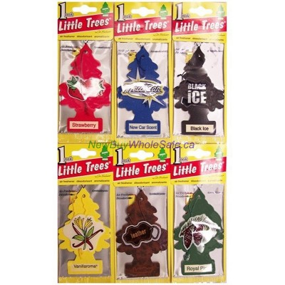Little Trees Classic Assortment - Car Air Freshener - LOWEST $0.59 - UPC:000761719344