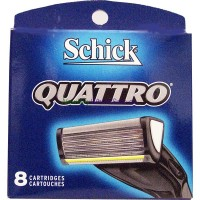 Schick Quattro 8's LOWEST $16.99