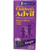 ADVIL FOR CHILD GRAPE FLAVOR 100ML LOWEST $7.80