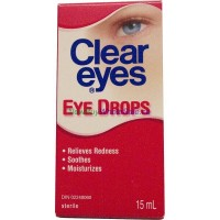 CLEAR EYES 15ML LOWEST $4.10