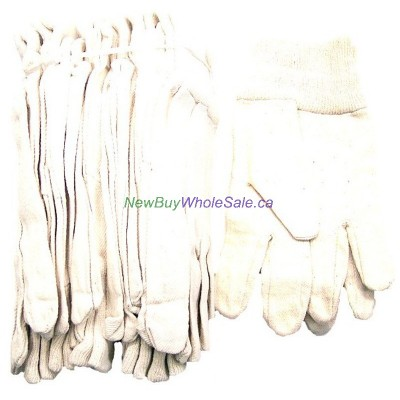 Cotton Fabric Work Gloves 12pk. LOWEST $0.30 pair