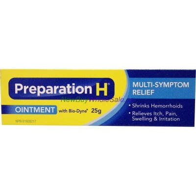 PREPARATION 'H' OINT TUBE 25G LOWEST $6.90