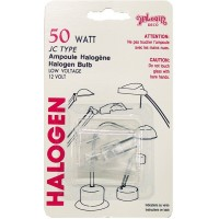 Halogen Bulbs 50W JC Type (Blister). LOWEST $0.69