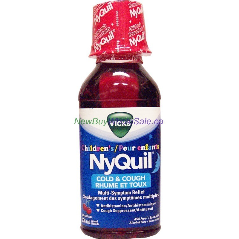 Vicks Children S Nyquil 236ml Lowest 8 45 Canada S