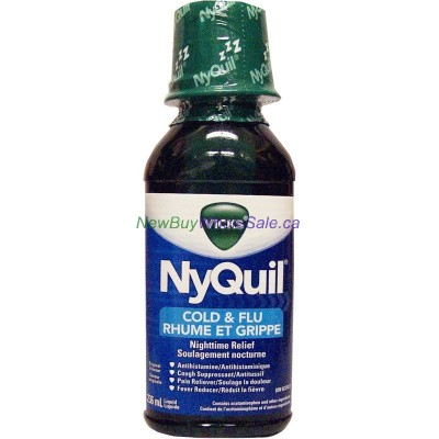 VICKS NYQUIL COLD ORIGINAL 236ML LOWEST $7.29