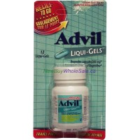 ADVIL LIQUI-GELS RELIEF TO GO 12'S LOWEST $4.40
