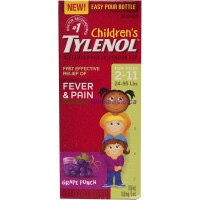 TYLENOL CHILD SUSP GRAPE 100ml LOWEST $6.95