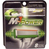 Gillette Mach3 Power 8 Cartridges LOWEST $18.99