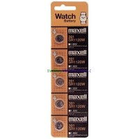 Maxell 391 SR 1120W. Watch Batteries $0.75 lowest