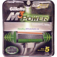 Gillette Mach3 Power 5 Pack Cartridges LOWEST $12.99