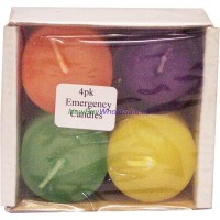 Emergency Votive Candles 4pk LOWEST $0.60