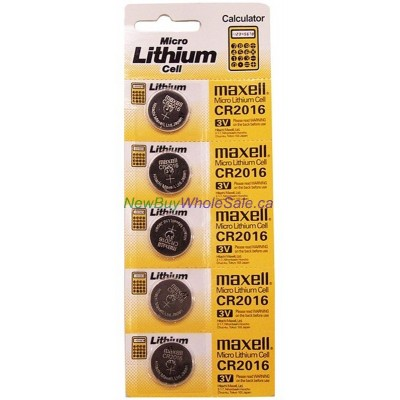Maxell CR2016 Lithium Cell. $0.40 lowest