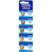 Panasonic CR 1612 Lithium Cell Batteries $1.75 lowest