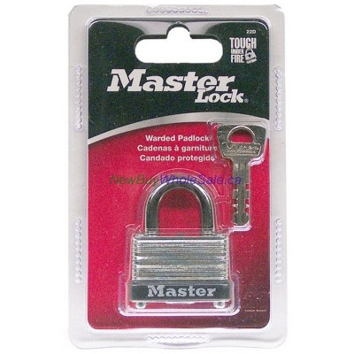 Master Lock 22D 38mm 1-1/2 inch. LOWEST $3.10