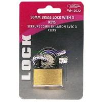 Brass Padlock 30mm. LOWEST $0.80