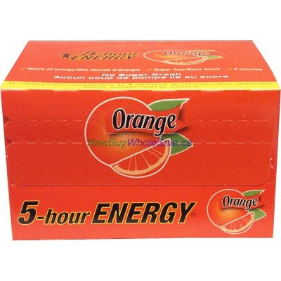 5 Hour Regular Strength 12 pack 57ml ORANGE