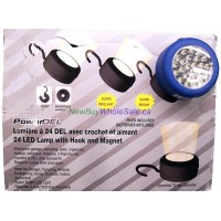 24 LED Lamp with Hook, Magnet and Batteries. LOWEST $2.75