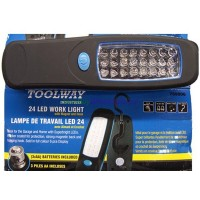 24 LED Worklight. Flashlight LOWEST $4.50. Magnet, Hook and AA Batteries
