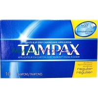 Tampax Tampons - Regular 10pk. LOWEST $2.85 UPC:073010214095