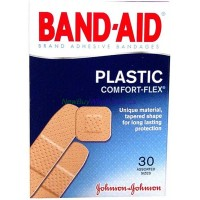 J&J - Band-Aid Adhesive bandage Plastic 30pk Assorted. LOWEST $1.85 UPC:381370045311