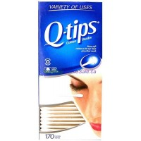 Q Tips Cotton Swabs 170pk. LOWEST $1.99 UPC:305215070009