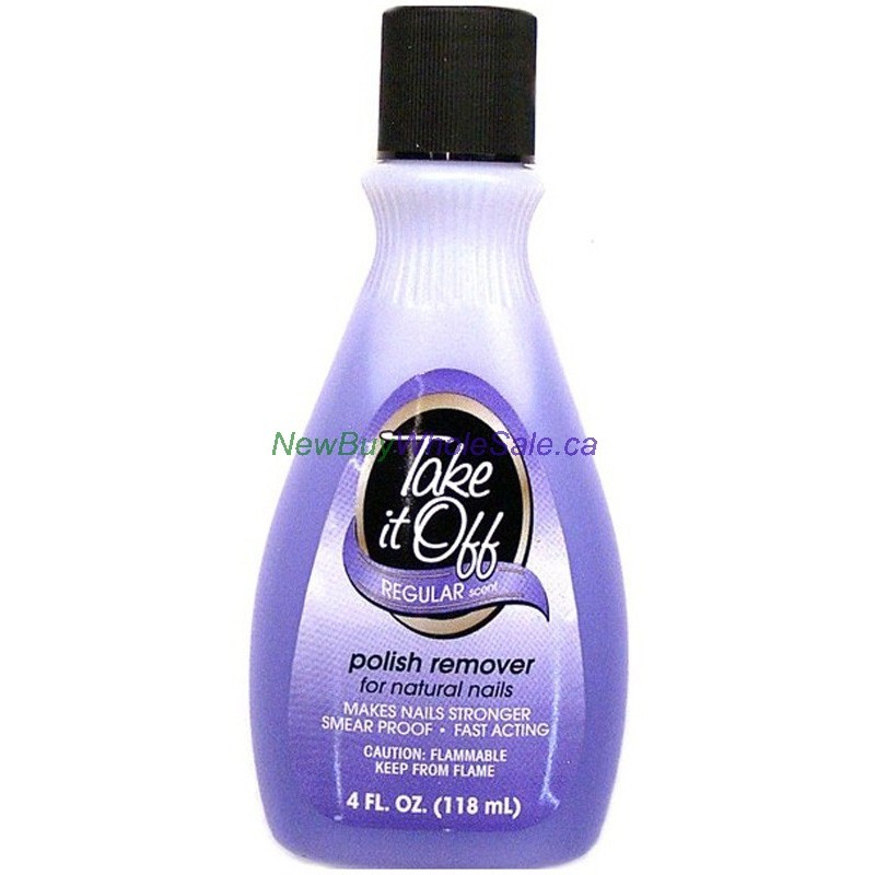 Buy Take It Off Nail Polish Remover Usa 118ml Wholesale Online From Newbuywholesale Ca