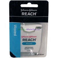 Reach Dental Floss Waxed J&J 55yds - LOWEST $1.88