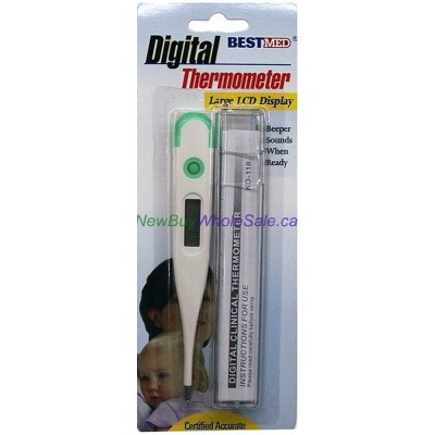Digital Thermometer - LCD Display - LOWEST $3.75