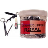 Nail Clippers Canada Design LOWEST $0.53 ea. Medium with File and Opener - Korea Royal Brand 36pcs/display
