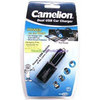 High Power Dual USB Car Phone Charger LOWEST $5.99 with Iphone4, mini and micro USB Connectors