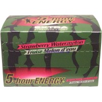 5 Hour Energy Extra Strength 12 pack 57ml STRAWBERRY WATERMELON